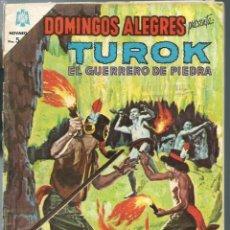 Tebeos: DOMINGOS ALEGRES Nº 544 - TUROK EL GUERRERO DE PIEDRA - AGOSTO 1964- NOVARO SEA - CORRECTO. Lote 197169177