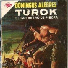 Tebeos: DOMINGOS ALEGRES Nº 436 - TUROK EL GUERRERO DE PIEDRA - AGOSTO 1962 - NOVARO SEA - UNICO TC. Lote 197170302