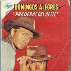 Tebeos: DOMINGOS ALEGRES Nº 481 - PRADERAS DEL OESTE - JUNIO 1963 - NOVARO SEA - CORRECTO - CASI UNICO EN TC. Lote 197171735