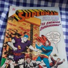 Tebeos: COMIC SUPERMAN 163 EL ENEMIGO INVULNERABLE REVISTA JUVENIL 1958. Lote 197172462