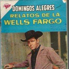 Tebeos: DOMINGOS ALEGRES Nº 434 - RELATOS DE LA WELLS FARGO JULIO 1962 - NOVARO SEA - CORRECTO - UNICO EN TC. Lote 197172490