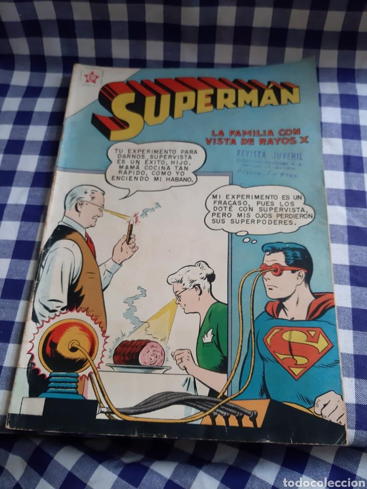 SUPERMAN LA FAMILIA CON VISTA DE RAYOS X (Tebeos y Comics - Novaro - Superman)