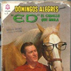 Tebeos: DOMINGOS ALEGRES Nº 537 - ED EL CABALLO QUE HABLA - JULIO 1964 - NOVARO SEA - DIFICIL - VER DESCRIP . Lote 197173972
