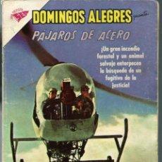 Tebeos: DOMINGOS ALEGRES Nº 463 - PAJAROS DE ACERO - FEBRERO 1963 - NOVARO SEA - DIFICIL. Lote 197174246