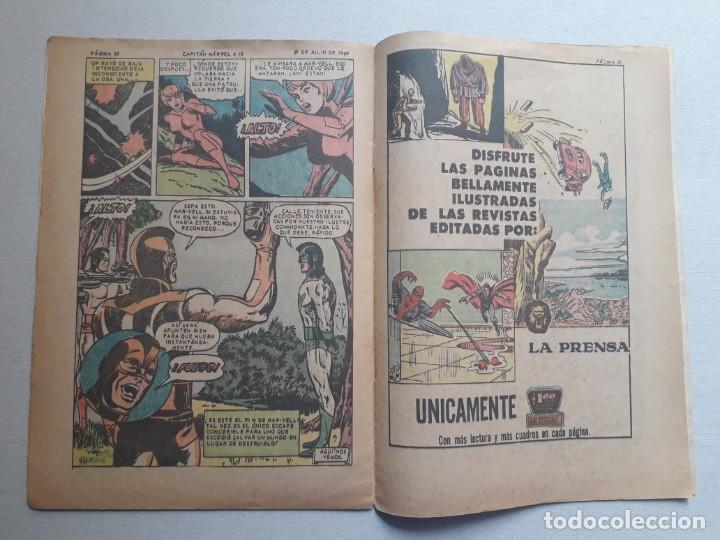 Tebeos: Capitán Marvel n° 10 - original editorial La Prensa (México) - Foto 3 - 197175950