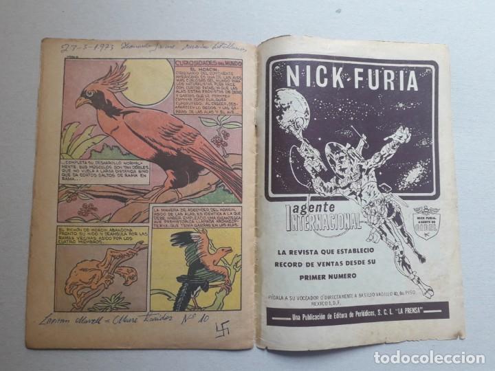 Tebeos: Capitán Marvel n° 10 - original editorial La Prensa (México) - Foto 5 - 197175950