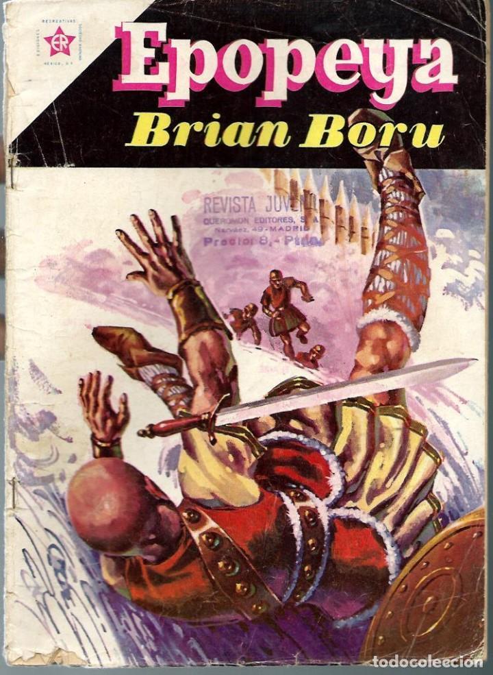 EPOPEYA Nº 40 - BRIAN BORU - SEPTIEMBRE 1961 - NOVARO SEA (Tebeos y Comics - Novaro - Epopeya)