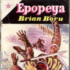 Tebeos: EPOPEYA Nº 40 - BRIAN BORU - SEPTIEMBRE 1961 - NOVARO SEA. Lote 197176326