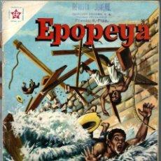 Tebeos: EPOPEYA Nº 43 - EL CANAL DE PANAMA - DICIEMBRE 1961 - NOVARO SEA - BIEN. Lote 197176521