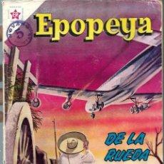 Tebeos: EPOPEYA Nº 60 - DE LA RUEDA AL JET - MAYO 1963 - NOVARO SEA - DIFICIL - A BUEN PRECIO. Lote 197177097