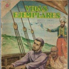 Tebeos: VIDAS EJEMPLARES Nº 63 - SAN VICENTE DE PAUL - JULIO 1959 - NOVARO SEA - DIFICIL - A BUEN PRECIO. Lote 197182906