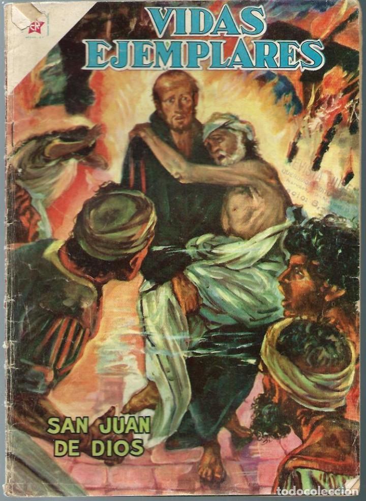 VIDAS EJEMPLARES Nº 97 - SAN JUAN DE DIOS - MARZO 1961 - NOVARO SEA - DIFICIL - A BUEN PRECIO (Tebeos y Comics - Novaro - Vidas ejemplares)