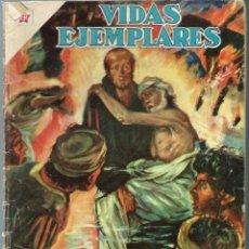 Tebeos: VIDAS EJEMPLARES Nº 97 - SAN JUAN DE DIOS - MARZO 1961 - NOVARO SEA - DIFICIL - A BUEN PRECIO. Lote 197183147