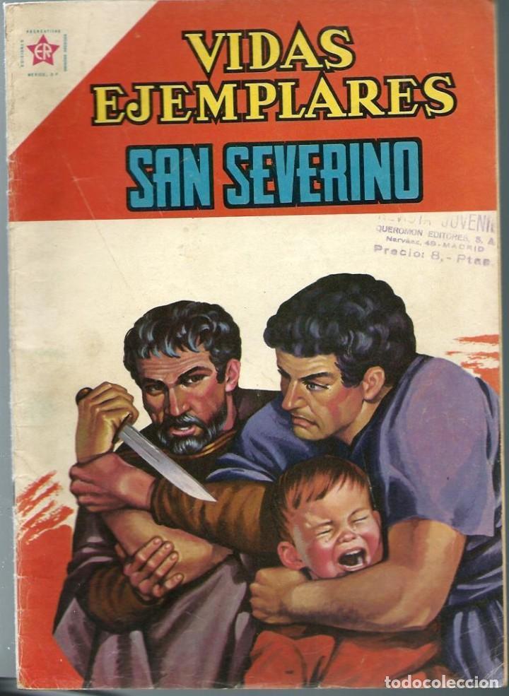 VIDAS EJEMPLARES Nº 112 - SAN SEVERINO - NOVIEMBRE 1961 - NOVARO SEA - DIFICIL - A BUEN PRECIO (Tebeos y Comics - Novaro - Vidas ejemplares)