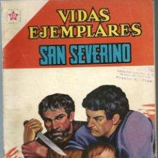 Tebeos: VIDAS EJEMPLARES Nº 112 - SAN SEVERINO - NOVIEMBRE 1961 - NOVARO SEA - DIFICIL - A BUEN PRECIO. Lote 197183482
