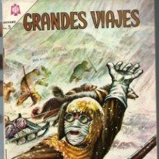Tebeos: GRANDES VIAJES Nº 26 - EL PASO DEL NOROESTE - MARZO 1965 - NOVARO SEA - DIFICIL - UNICO EN TC. Lote 197184096