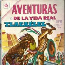 Tebeos: AVENTURAS DE LA VIDA REAL Nº 77 - TLACAELEL - MAYO 1962 - NOVARO EDICIONES RECREATIVAS - BIEN. Lote 197184591