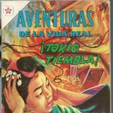Tebeos: AVENTURAS DE LA VIDA REAL Nº 80 - ¡TOKIO TIEMBLA! - AGOSTO 1962 - NOVARO EDICIONES RECREATIVAS, BIEN. Lote 197185035