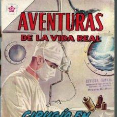 Tebeos: AVENTURAS DE LA VIDA REAL Nº 88 - CIRUGIA EN LAS OLAS - ABRIL 1963 - NOVARO EDICIONES RECREATIVAS. Lote 197185285
