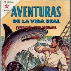 Tebeos: AVENTURAS VIDA REAL Nº 92 - EXPEDICION EXTRAORDINARIA - AGOSTO 1963 - NOVARO EDICIONES RECREATIVAS. Lote 197185496