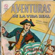 Tebeos: AVENTURAS VIDA REAL Nº 102- EL ENIGMA DE LA ISLA DEL COCO -JUNIO 1964 - NOVARO EDICIONES RECREATIVAS. Lote 197185758