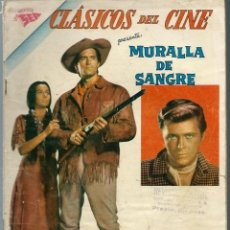 Tebeos: CLASICOS DEL CINE Nº 60 - MURALLA DE SANGRE - NOVIEMBRE 1961 - NOVARO SEA - UNICO EN TC. Lote 197186836