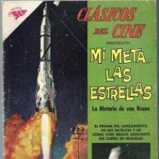 Tebeos: CLASICOS DEL CINE Nº 62 - MI META, LAS ESTRELLAS - ENERO 1962 - NOVARO SEA - UNICO EN TC. Lote 197187000