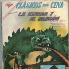 Tebeos: CLASICOS DEL CINE Nº 66 - LA ESPADA Y EL DRAGON - MAYO 1962 - NOVARO SEA. Lote 197187160