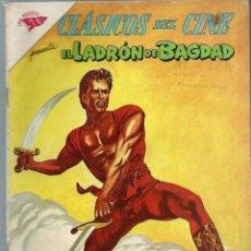 Tebeos: CLASICOS DEL CINE Nº 71 - EL LADRON DE BAGDAD - JULIO 1962 - NOVARO SEA. Lote 197187528