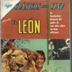 Tebeos: CLASICOS DEL CINE Nº 92 - EL LEON - JUNIO 1963 - NOVARO SEA. Lote 197187685