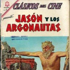 Tebeos: CLASICOS DEL CINE Nº 119 - JASON Y LOS ARGONAUTAS - AGOSTO 1964 - NOVARO SEA. Lote 197188056