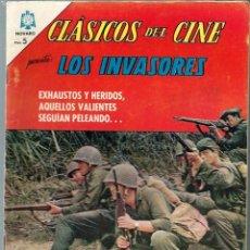 Tebeos: CLASICOS DEL CINE Nº 121 - LOS INVASORES - SEPTIEMBRE 1964 - NOVARO SEA. Lote 197188231