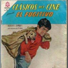 Tebeos: CLASICOS DEL CINE Nº 134 - EL FUGITIVO - MAYO 1965 - NOVARO SEA. Lote 197188357