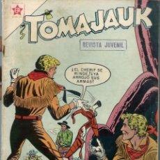 Tebeos: TOMAJAUK Nº 35 - JULIO 1958 - NOVARO EDICIONES RECREATIVAS ER - DIFICIL Y RARO - UNICO EN TC. Lote 197188976