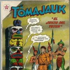 Tebeos: TOMAJAUK Nº 78 - FEBRERO 1962 - NOVARO EDICIONES RECREATIVAS ER - DIFICIL Y RARO - UNICO EN TC. Lote 197190015