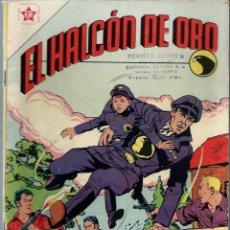 Tebeos: EL HALCON DE ORO Nº 1 - FEBRERO 1958 - NOVARO EDICIONES RECREATIVAS ER - MUY DIFICIL Y MUY BIEN. Lote 197190945