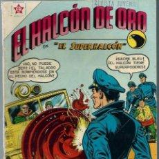 Tebeos: EL HALCON DE ORO Nº 6 - JULIO 1958 - NOVARO EDICIONES RECREATIVAS ER - MUY DIFICIL Y MUY BIEN. Lote 197191132