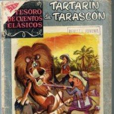 Tebeos: TESORO DE CUENTOS CLASICOS Nº 10 - TARTARIN DE TARASCON - JUNIO 1958 - NOVARO SEA - UNICO EN TC. Lote 197193345