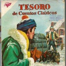 Tebeos: TESORO DE CUENTOS CLASICOS Nº 59 - EL LLAMADO DE LA SELVA - JULIO 1962 - NOVARO SEA - UNICO EN TC. Lote 197193992