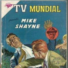 Tebeos: TV MUNDIAL Nº 9 - MIKE SHAYNE - MAYO 1963 - NOVARO SEA - . Lote 197194286