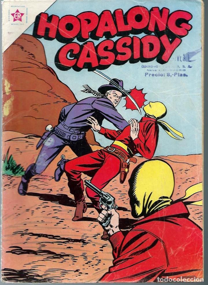 HOPALONG CASSIDY Nº 90 - JUNIO 1962 - NOVARO SEA - UNICO EN TODOCOLECCION (Tebeos y Comics - Novaro - Hopalong Cassidy)