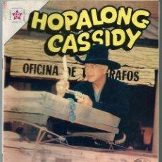 Tebeos: HOPALONG CASSIDY Nº 100 - ABRIL 1963 - NOVARO SEA - DIFICIL. Lote 197195160