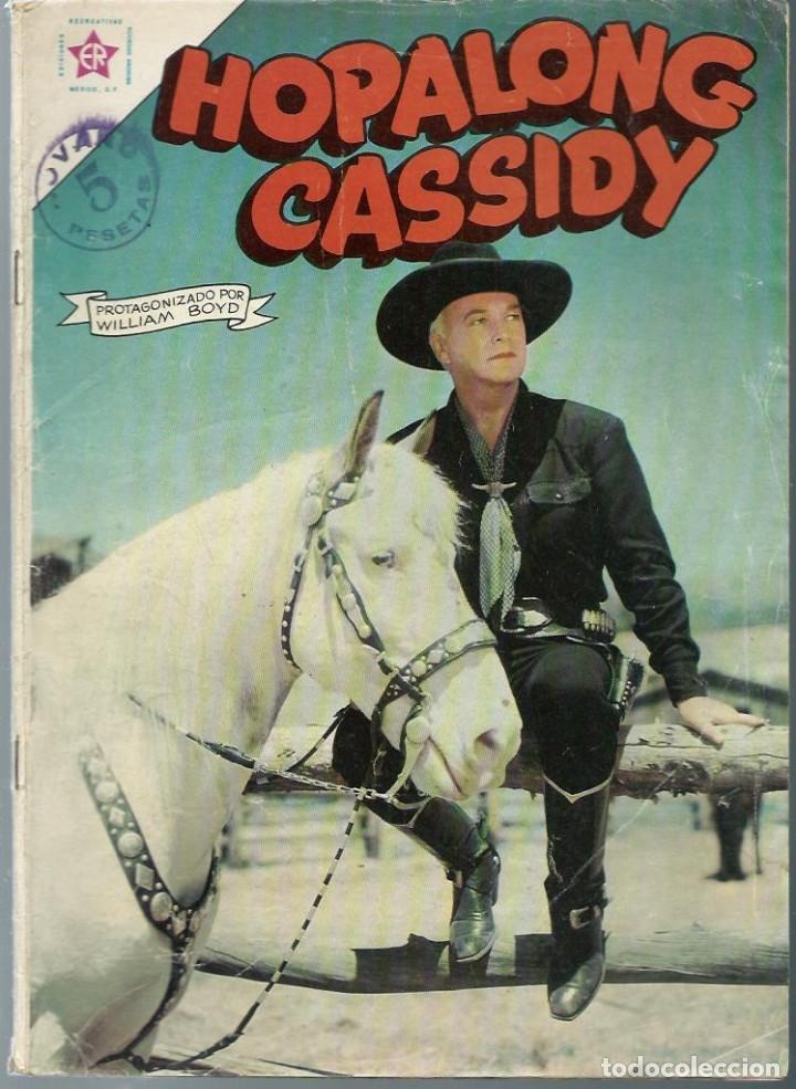 HOPALONG CASSIDY Nº 102 - JUNIO 1963 - NOVARO SEA - DIFICIL (Tebeos y Comics - Novaro - Hopalong Cassidy)