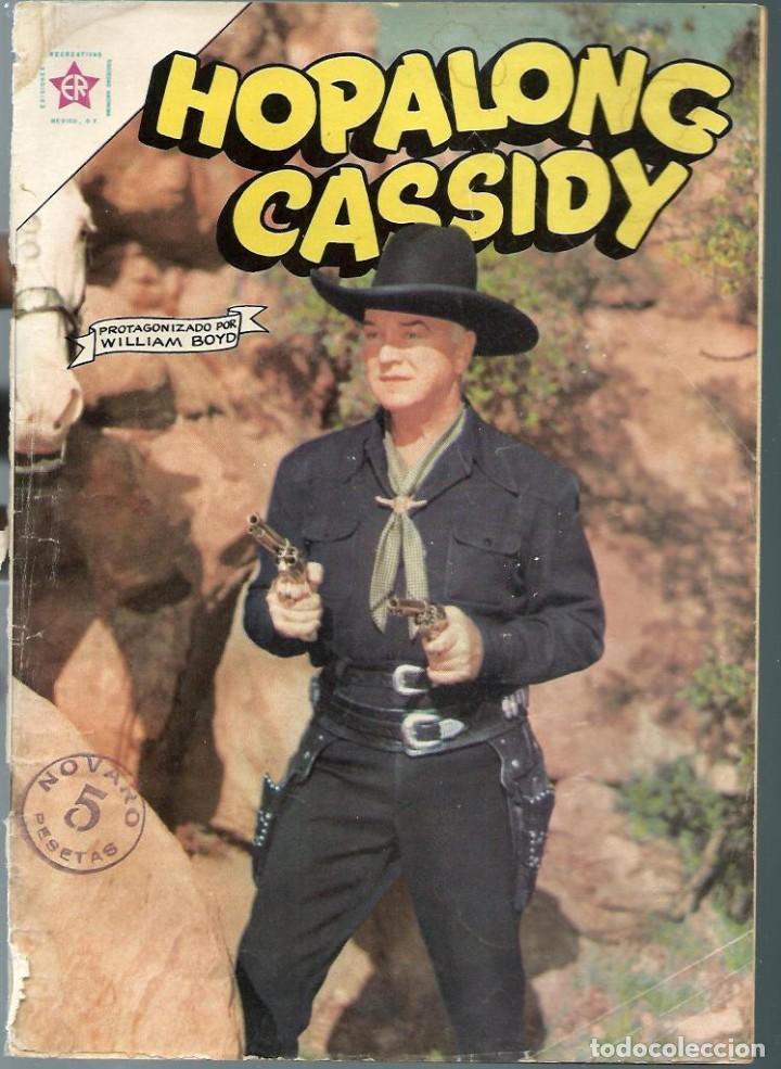 HOPALONG CASSIDY Nº 103 - JULIO 1963 - NOVARO SEA - DIFICIL - VER DESCRIPCION (Tebeos y Comics - Novaro - Hopalong Cassidy)