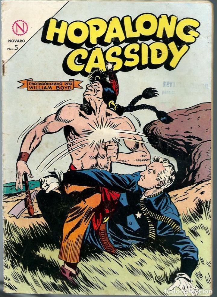 HOPALONG CASSIDY Nº 113 - MAYO 1964 - NOVARO SEA - DIFICIL (Tebeos y Comics - Novaro - Hopalong Cassidy)