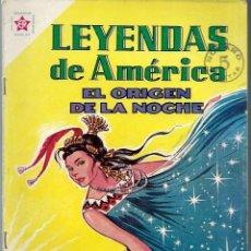 Tebeos: LEYENDAS DE AMERICA Nº 87 - EL ORIGEN DE LA NOCHE - MAYO 1963 - NOVARO SEA - VER DESCRIPCION. Lote 197197081