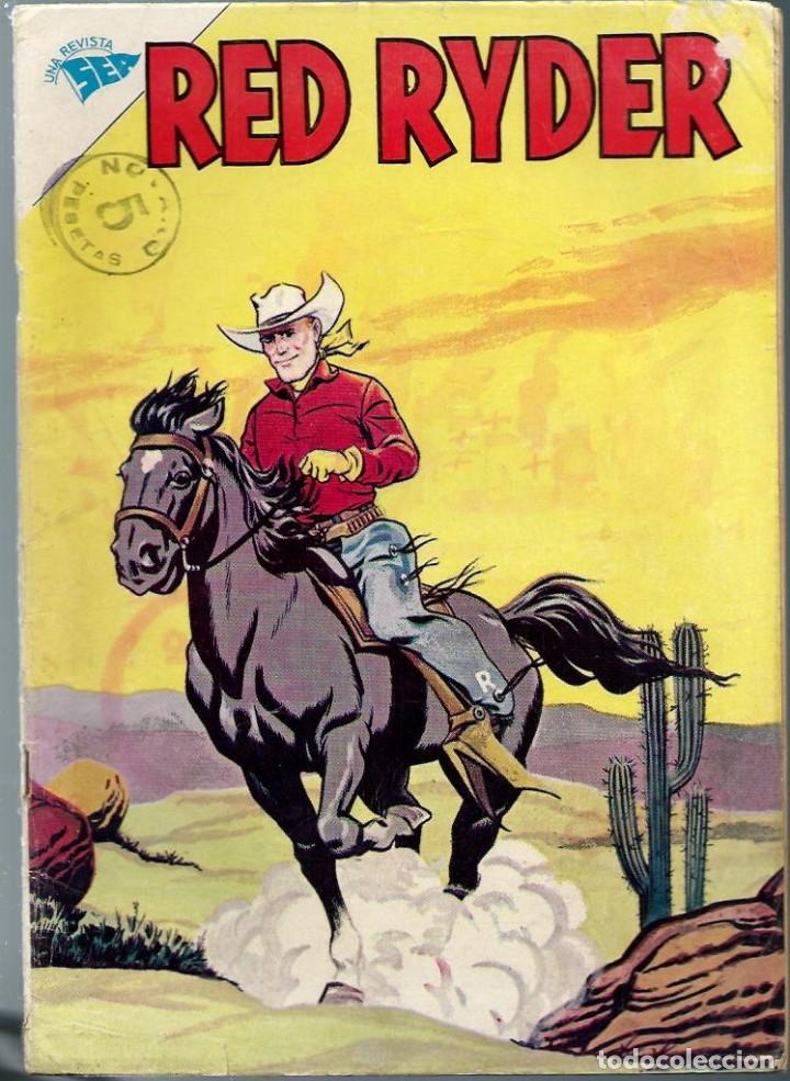 RED RYDER Nº 106 - AGOSTO 1963 - NOVARO SEA - BIEN - DIFICIL (Tebeos y Comics - Novaro - Red Ryder)