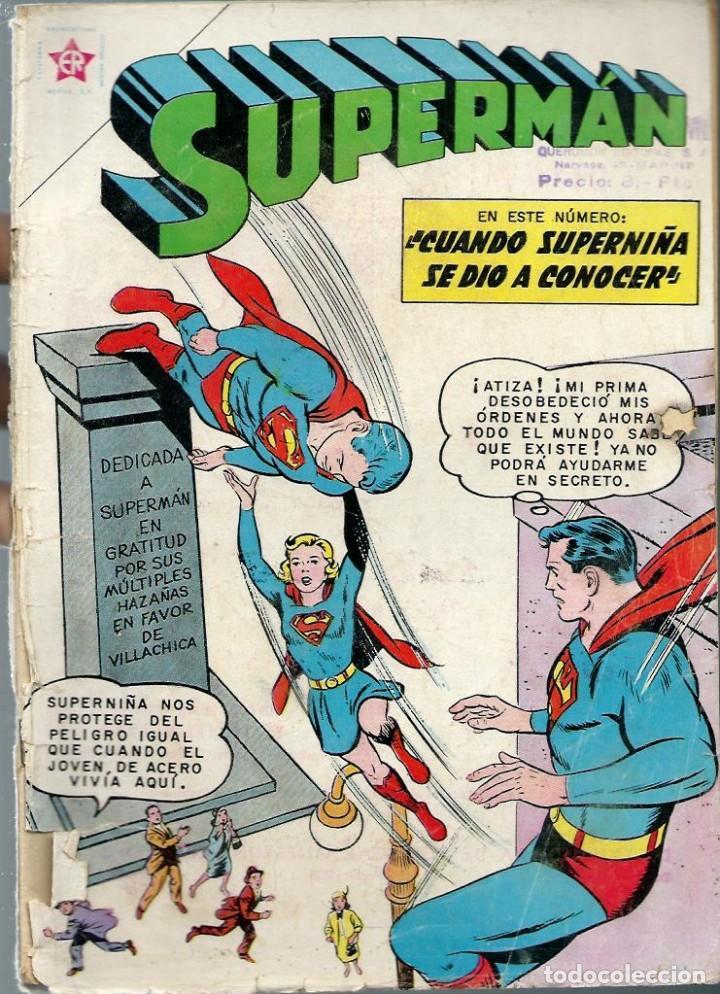 SUPERMAN Nº 303 - CUANDO SUPERMAN SE DIO A CONOECER - AGOSTO 1961- NOVARO SEA - DIFICIL, UNICO EN TC (Tebeos y Comics - Novaro - Superman)