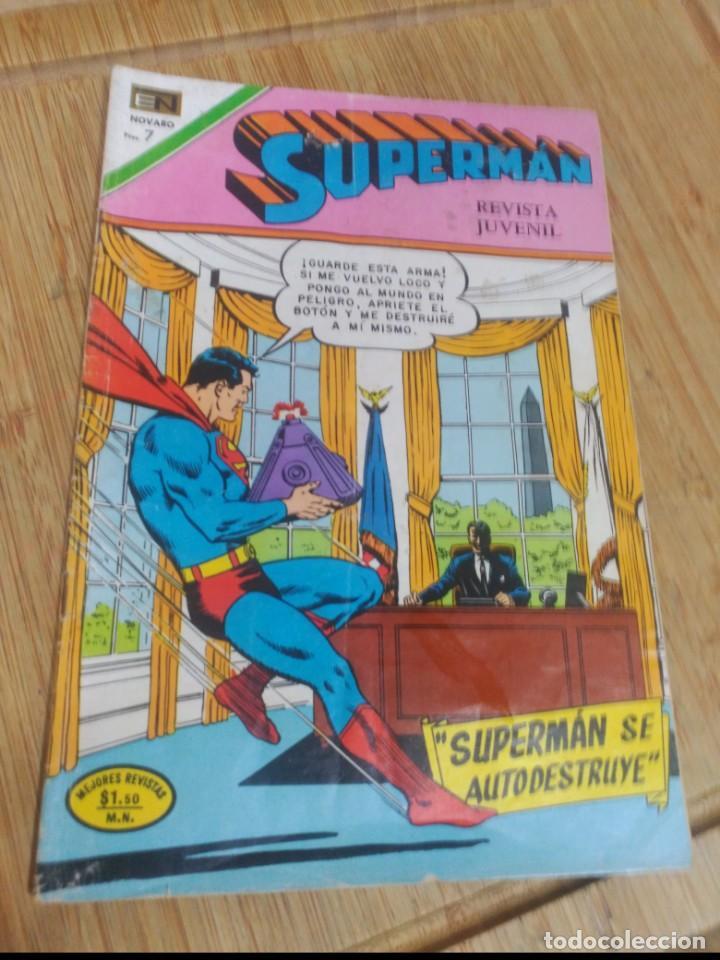 SUPERMAN NOVARO Nº 830 (Tebeos y Comics - Novaro - Superman)
