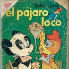 Tebeos: EL PAJARO LOCO Nº 157 - ABRIL 1959 - NOVARO SEA - RARO. Lote 197204628